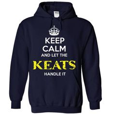 KEATS KEEP CALM Team .Cheap Hoodie 39$ sales off 50% on - #hoodie outfit #sweatshirt design. ACT QUICKLY => https://www.sunfrog.com/Valentines/KEATS-KEEP-CALM-Team-Cheap-Hoodie-39-sales-off-50-only-19-within-7-days-.html?68278