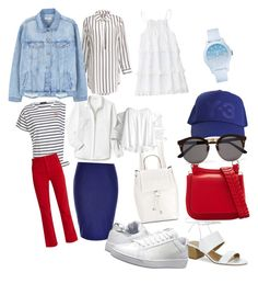 2 by tchildinova on Polyvore featuring polyvore fashion style Lacoste MARA Caroline Constas MANGO City Chic Bliss and Mischief K-Swiss Tahari French Connection Y-3 Illesteva clothing
