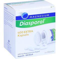 MAGNESIUM DIASPORAL 400 Extra Kapseln:   Packungsinhalt: 100 St Kapseln PZN: 10192609 Hersteller: Protina Pharmazeutische GmbH Preis:…