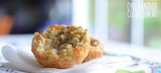 CHEESY CORN AND CARROT MUFFINS: Tasty and sweet, corn is full of fibre and nutrients, including vitamin C and folate making it a great addition to your savory muffins. #onehandedcooks