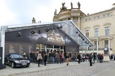 Mercedes Benz Fashion Week in Losberger event tents marquees