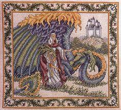 Teresa Wentzler - The Princess and the Dragon