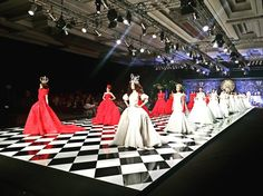 "Congratulations to @monicaivena  for the stunning ""Wonderland"" fashion show in our grand  ballroom last nite. We wish you more success to come."
