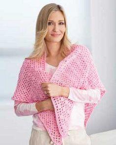 A Crochet Shawl | FaveCrafts.com