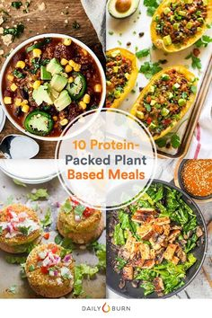 Going vegetarian once a week can help put you on the path to clean eating. These meatless meals are packed with plant-based protein, fiber and other nutrients. Plant Based Diet, Plant Based Recipes, Raw Food Recipes, Diet Recipes, Vegetarian Recipes, Healthy Recipes, Vegetarian Sandwiches, Lentil Recipes, Vegetarian Cooking