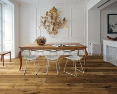 Parquet in rovere IMPRESSION by Woodco