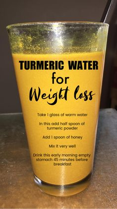 Turmeric Water For Weight Loss – Detox Cleanse For Weight Loss Weight Loss Water, Easy Weight Loss Tips, Weight Loss Drinks, Weight Loss Smoothies, Fast Weight Loss, Lose Weight, Turmeric Water, Turmeric Health, Turmeric Detox Drink
