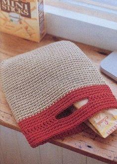 Knitting crochet handbags