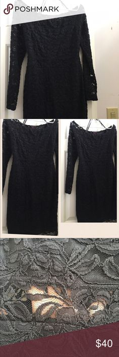 Lace off shoulder dress! NWOT! Super hot, off the shoulder dress, all lace. Fully lined except cut out in middle. Fits true to size - perfect for a night out. New without tags! Material Girl Dresses Mini