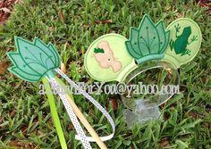 Mouse Ear Headband - Frog Princess