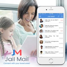 You can connect with your friends and relatives or other #inmates in the person through Jail mail app.