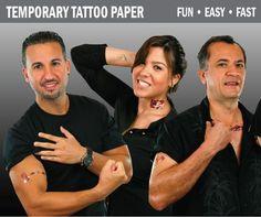 Tattoo Decal Paper