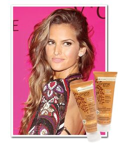 Izabel Goulart-perfect hair style and color