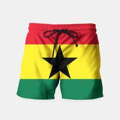 GHANA (FLAG) Swim Shorts