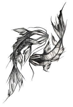 Oriental carp tattoo Black and white design Oriental design - Oriental. - Oriental carp tattoo Black and white design Oriental design – Oriental carp tattoo Blac - Tattoos Motive, Bild Tattoos, Body Art Tattoos, Sleeve Tattoos, Ship Tattoos, Arrow Tattoos, Tatoos, Sketch Style Tattoos, Tattoo Sketches