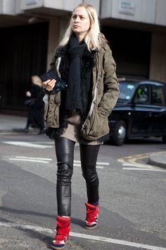 Street style: London fashion week A/W 2012-2013   Harper's BAZAAR