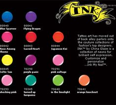 China Glaze Ink Still Need: Sacred Heart