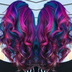 We've gathered our favorite ideas for Beautiful Fuchsia Pink And Blue Mermaid Hair Hair Nails, Explore our list of popular images of Beautiful Fuchsia Pink And Blue Mermaid Hair Hair Nails in blue mermaid hair color. Hair Color Blue, Cool Hair Color, Bright Hair Colors, Pink Color, Pastel Colors, Vibrant Colors, Blue Mermaid Hair, Mermaid Style, Grunge Hair