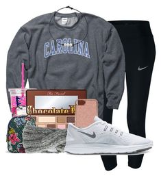 """""""Going on vacation soon"""" by sophiavarrrr ❤ liked on Polyvore featuring NIKE, Lilly Pulitzer, Too Faced Cosmetics, Vera Bradley, Ted Baker and Eugenia Kim"""