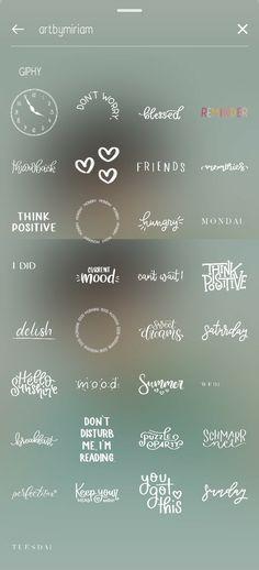 Instagram Words, Instagram Emoji, Iphone Instagram, Instagram And Snapchat, Insta Instagram, Instagram Story Ideas, Instagram Quotes, Fotografia Tutorial, Instagram Editing Apps