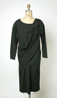 Comme des Garcons -- 1982-83 _ wool dress