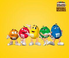 M&M's Chile - ¡Feliz año nuevo les desean Verde, Amarillo, Naranjo, Azul y Rojo!