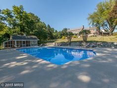 In ground pool with adjacent guest house @2905 Good Luck, Annapolis, MD, 21401