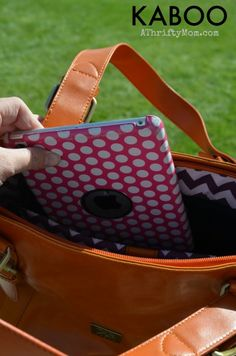 KABOO bag, stylish but protects your tablet or ipad at the same time