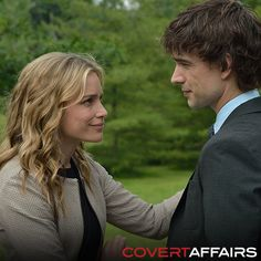 Watch Annie and Auggie work together TONIGHT on an all-new Covert Affairs.