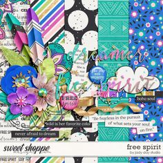 Quality DigiScrap Freebies: Free Spirit mini kit freebie from Jady Day Studio