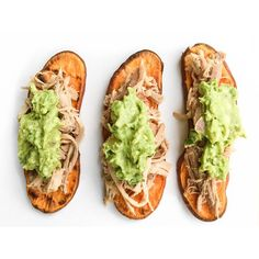 Sweet potato toast + crockpot pork + guac for a super quick dinner. I slice my sweet potatoes, rub with olive oil, and pop 'em in the toaster oven (am I the only one out there with a toaster oven other than my grandma?!) right on the rack for 10 minutes or so on 400. Works like a charm.