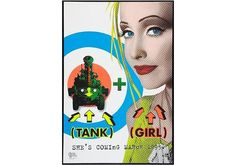 Tank Girl Movie Poster - Did you like the movie or do you prefer the Tank Girl Comics?