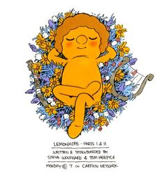 Lemonhope parts 1 and 2 promo art by Steve Wolfhard