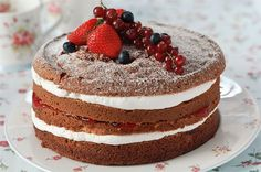 75 Mother's Day cakes and bakes - Strawberry cloud cake - goodtoknow