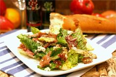 Blue on Bleu Salad Feature