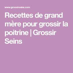 Recettes de grand mère pour grossir la poitrine | Grossir Seins Sport, Beauty Hacks, Deporte, Excercise, Sports, Exercise