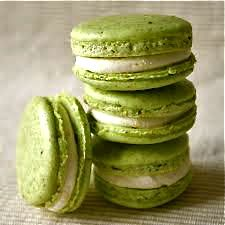 chartreuse macrons