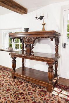 Elizabethan buffet, Marhamchurch antiques