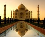 The Taj Mahal in Agra, India is one of the finest monument in the world. Taj Mahal, situated on the bank of River Yumuna was built in memory of Mumtaz Mahal, wife of the Mughal Emperor Shah Jahan.