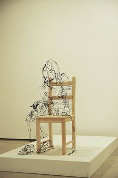 Scribbled Wire Sculptures