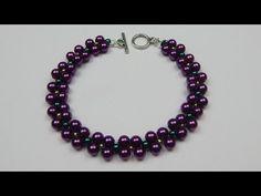3 bracelets design - 1 pattern. Jewelry making for beginners - YouTube