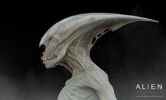 ArtStation - Early Neomorph Concept Art for Ridley Scott's Alien Covenant, COLIN SHULVER