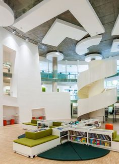 Clapham, una moderna biblioteca londinense cuyo diseño y estilo la hacen única...