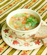 Butter Bean Cabbage Soup