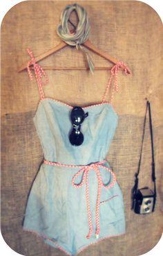 Vintage 50s bathing suit