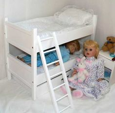 American Girl Doll Furniture: 18 Inch Doll Clothes & Trunks, Beds, Wood, & Upholstered Doll Furniture