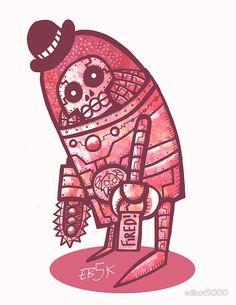 Mad Spaceman Series: Pink Slip