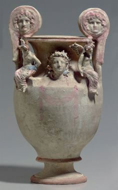 A CANOSAN POLYCHROME POTTERY VOLUTE-KRATER | APULIA, CIRCA EARLY 3RD CENTURY B.C.