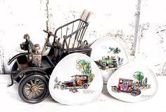 3 zauberhafte vintage Teller Porzellan Johann Haviland   Etsy