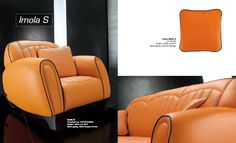 leather, lacquered feet sofa available in 3 seat sofa, 2 seat sofa, armchair